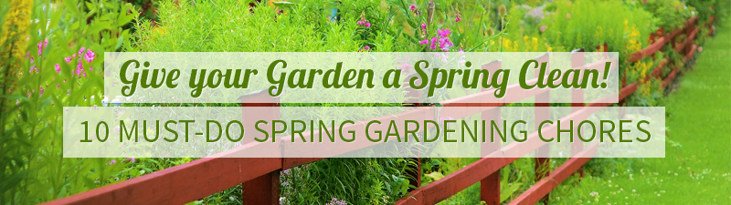 Spring Gardening Chores - Read more