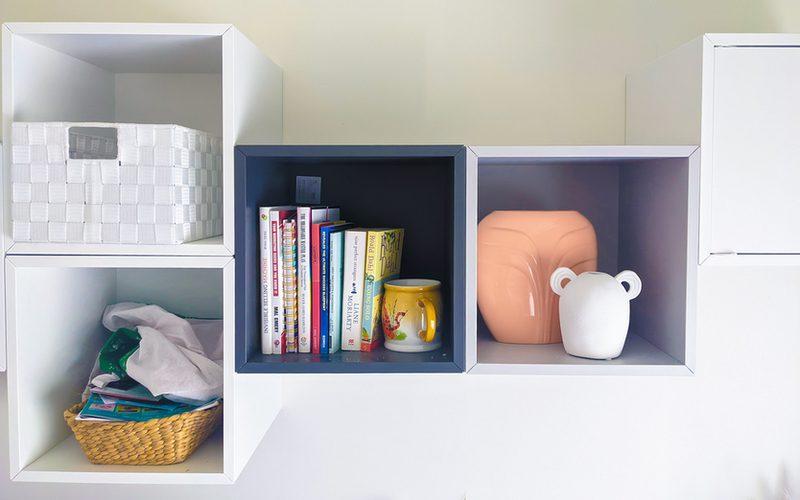diy storage solutions - cube storage