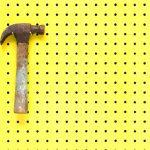 Gardening Essential Items - Peg Board for workshop