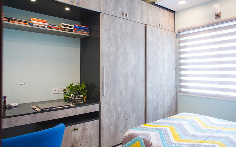 diy storage solutions - built-in wardrobe
