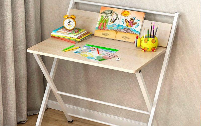 diy storage solutions - foldable desk