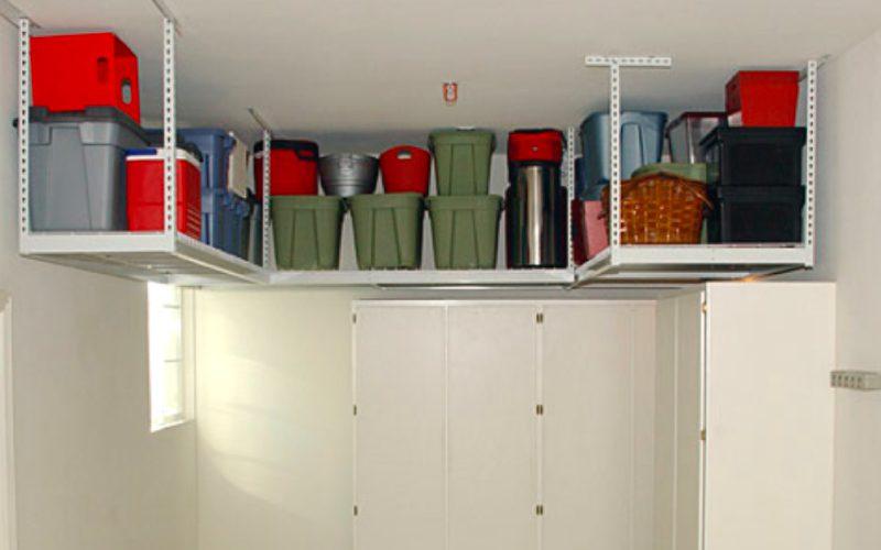 diy storage solutions - split garage