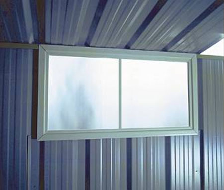 Shed Accessories - Perspex Sliding Window