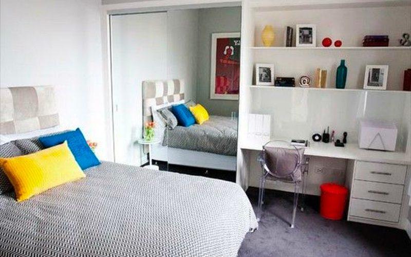 diy storage solutions - wardrobe office