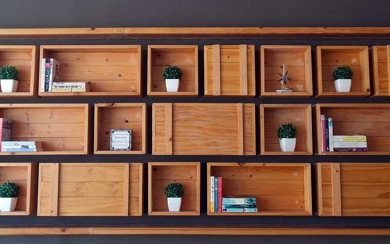 diy storage solutions - wall-to-wall storage