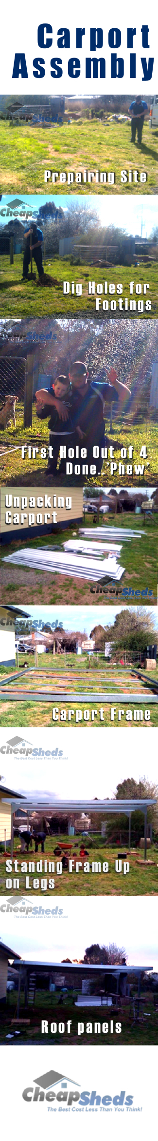 Carport Kit Assembly