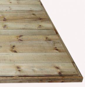 Flooring Options for Garden Sheds- Stilla Timber Flooring kit