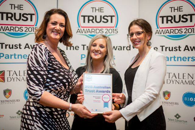 Most Trusted Retailer - awards