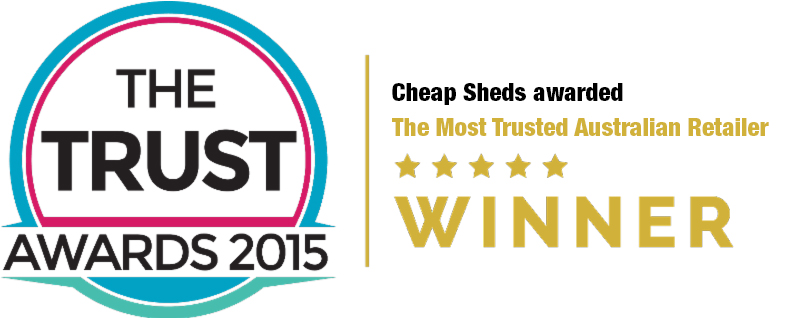THE TRUST AWARDS 2015 - CHEAP SHEDS