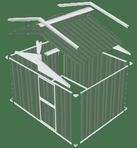 panel sheds - Garden shed