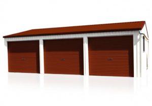 Buy a Garage - Spanbilt Triple Garage 6x9