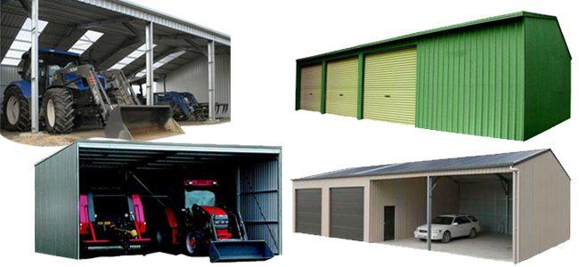 Farm sheds - range