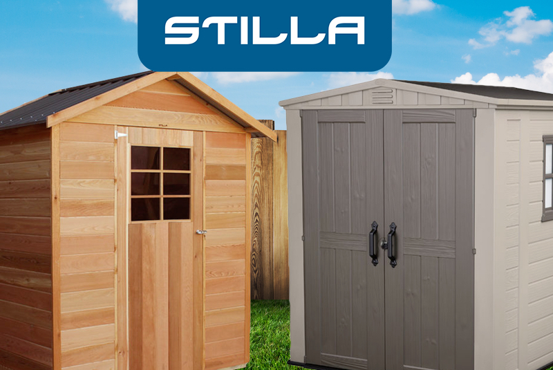 Stilla Sheds Factory - Stilla Sheds