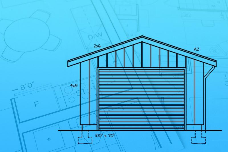 Australian Made Garage - drawing