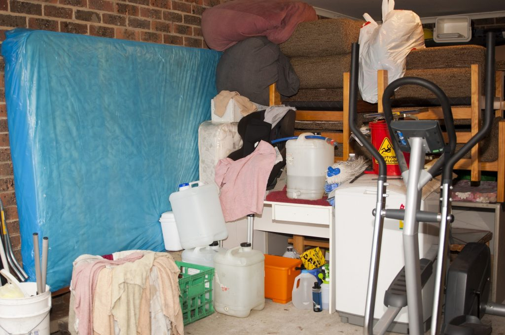 Avoid dumping- garage storage solutions