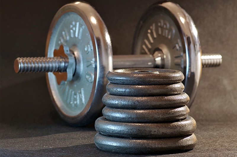 Backyard Gym - weights