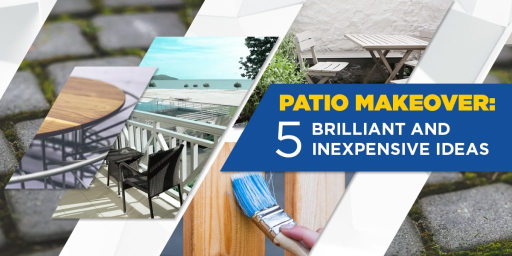 patio makeover - read more