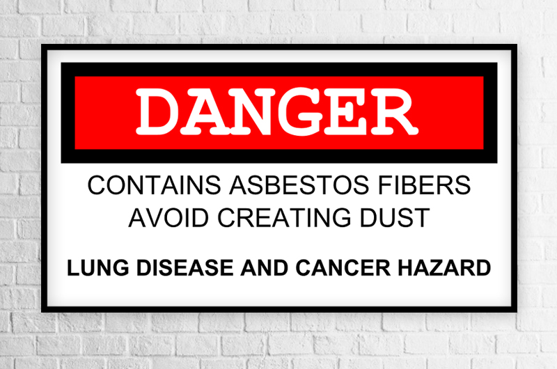 Mould, Lead Paint and Asbestos poisoning - Asbestos poisoning