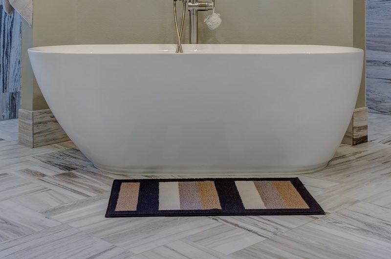 Child-Friendly Bathroom - slip-proof mat