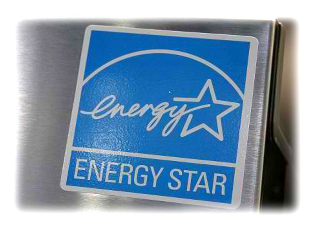 Reduce Electricity - look for the Energy Star rating