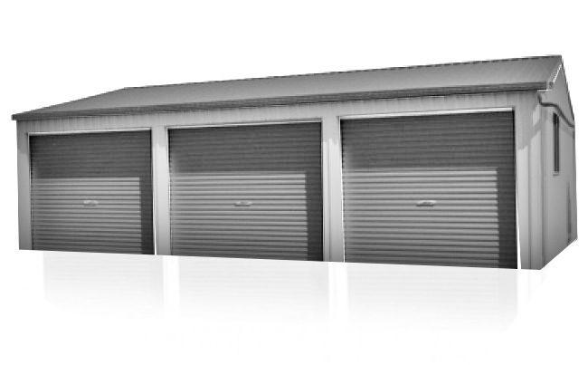 Australian Made Garage - Triple Garage