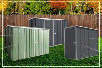 Top 10 Best Selling Garden Sheds 2019