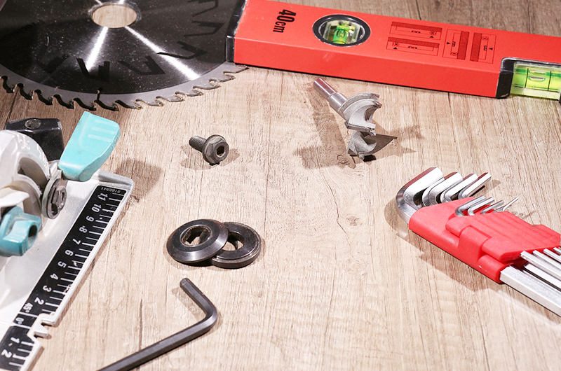 Garden Shed Foundation - tool kit