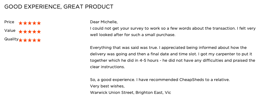 Bike Shed Review
