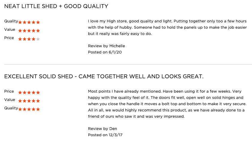 Keter High Store shed Review